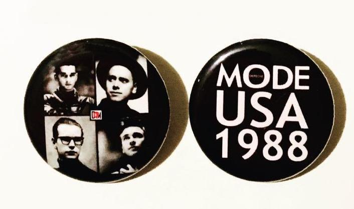 Depeche Mode 101 Buttons