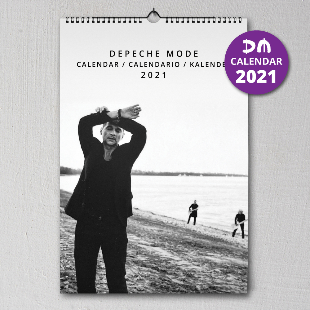 Wall Calendar Depeche Mode 2021 Sale