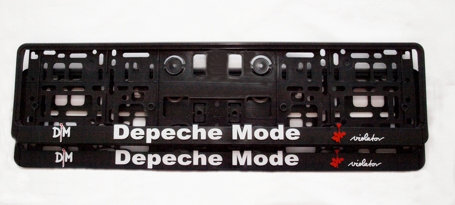 Depeche Mode Violator 3D plate holder