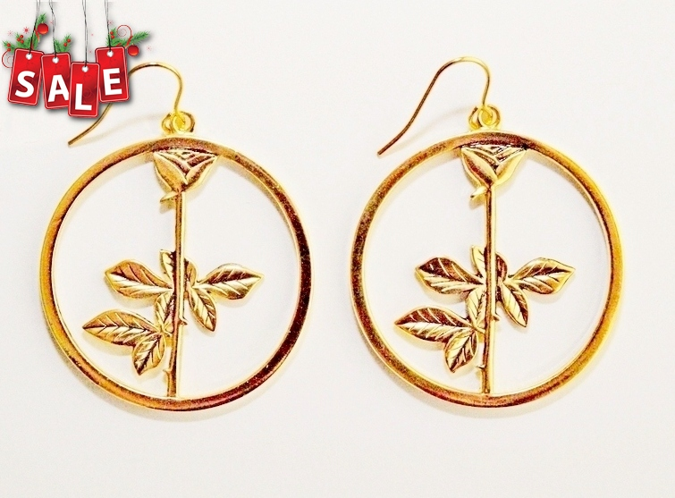 Depeche Mode Earrings Rose Gold
