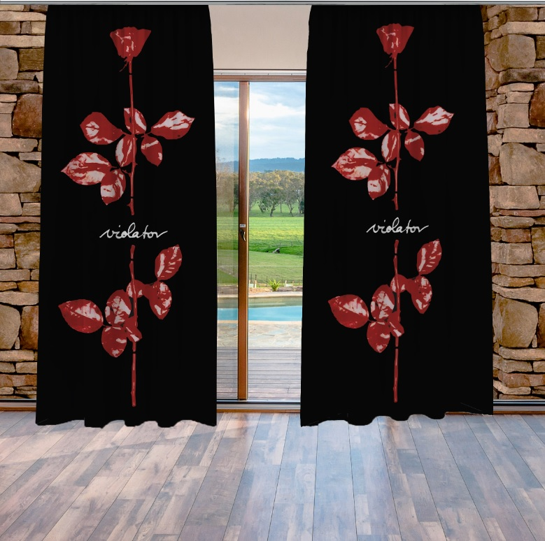 Depeche Mode Violator Curtains
