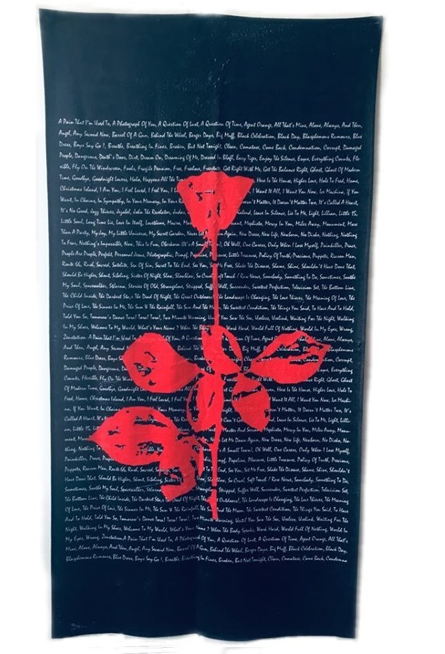 Towel Depeche Mode Violator Rose