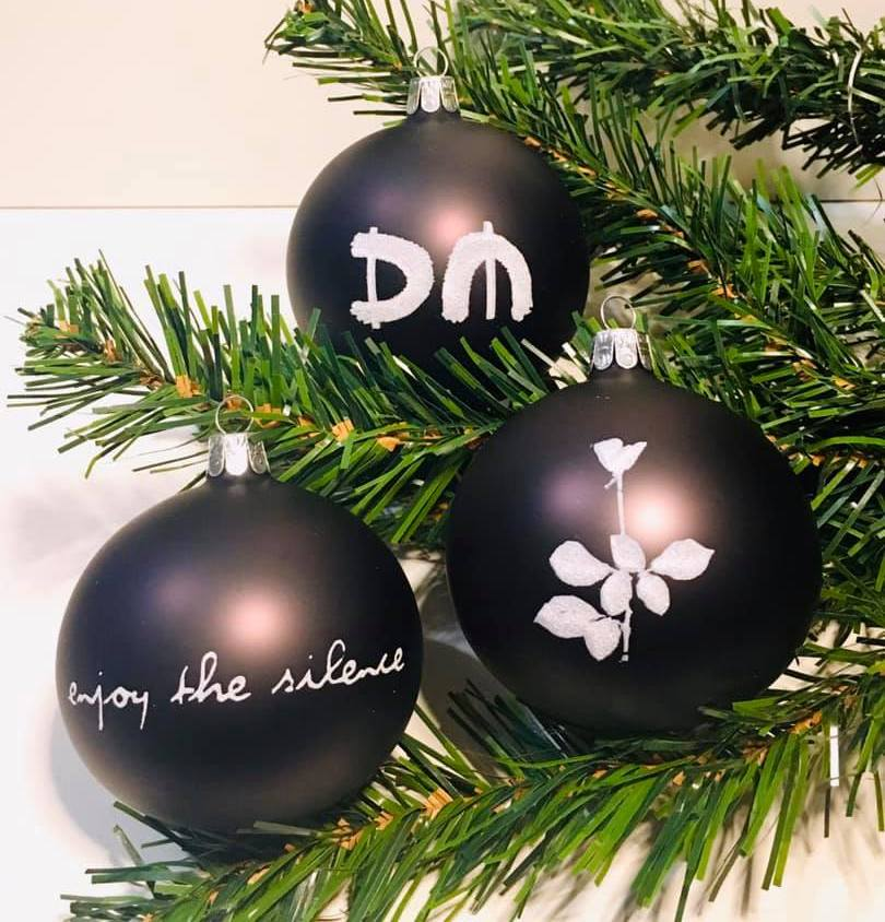 Depeche Mode Christmas Balls