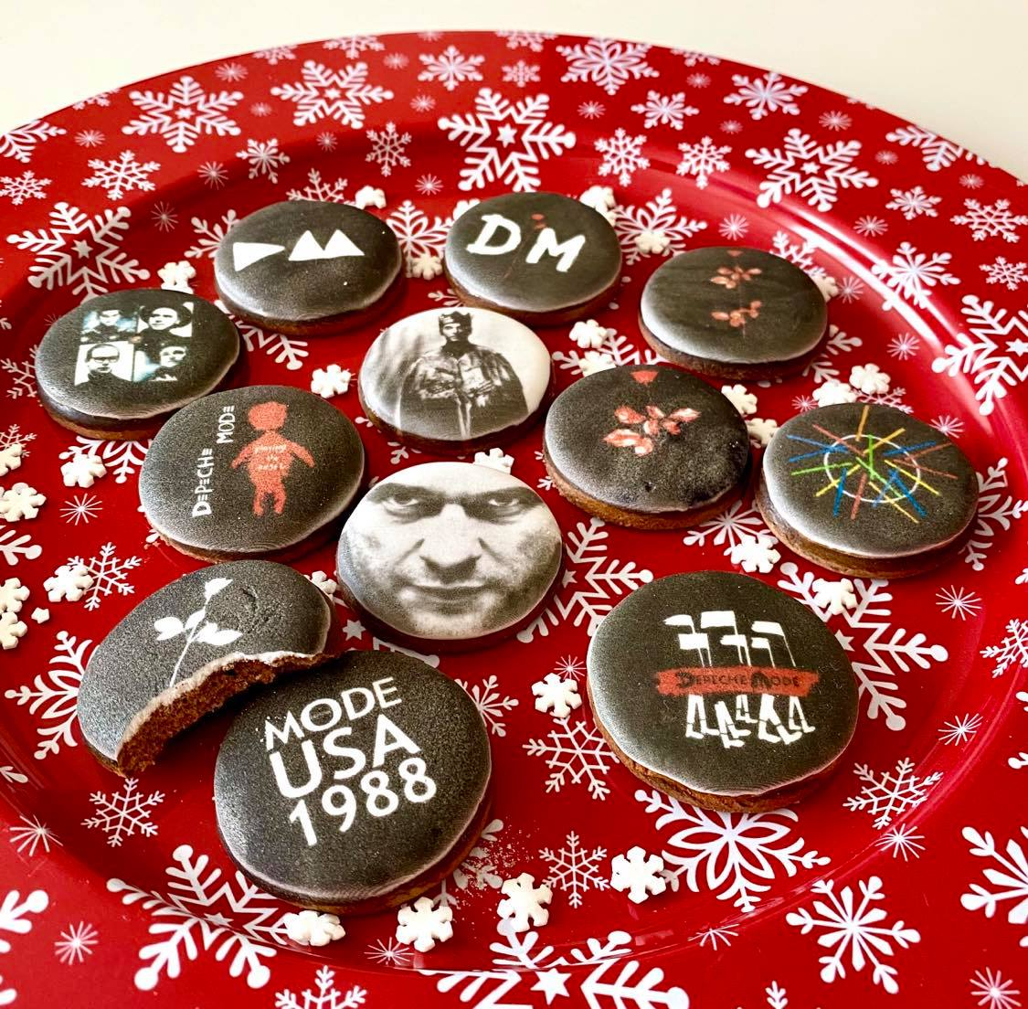 Depeche Mode Christmas gingerbread