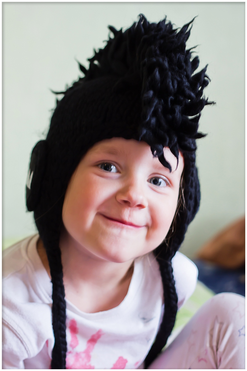 Mohawk hat for children