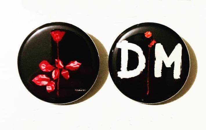Depeche Mode Violator Buttons