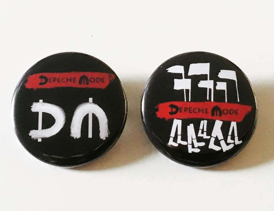 Depeche Mode Global Spirit (Buttons)