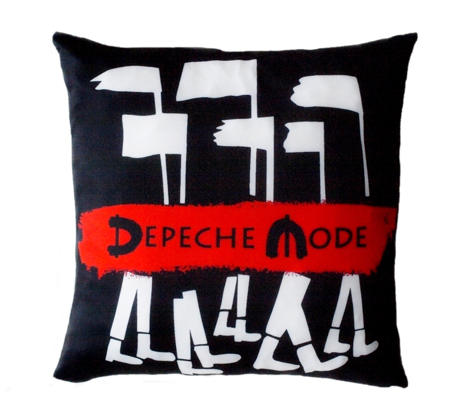 Depeche Mode Pillow Global Spirit